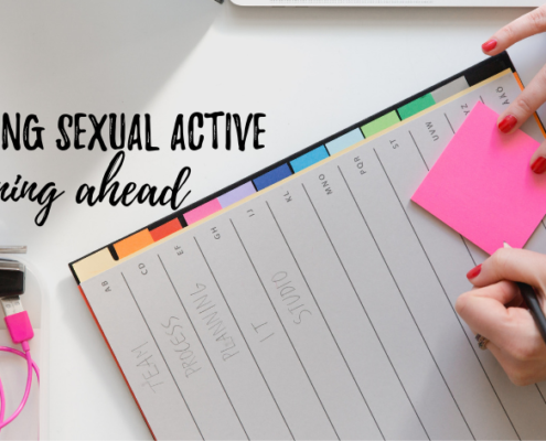 Sexually active - planning ahead